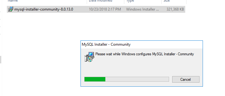Installing MySQL Server & MySQL Workbench on a Windows Server 2016